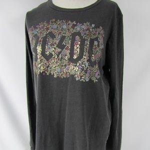 Lucky Brand women XL Cotton AC/DC Graphic T-Shirt